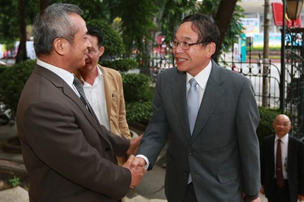 越日两国工会组织加强合作关系 hinh anh 1