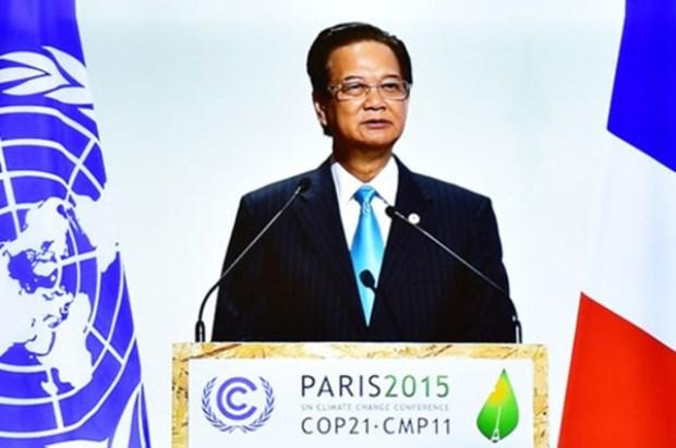 越南政府总理阮晋勇:发达国家应率先履行应对气候变化的承诺 hinh anh 1