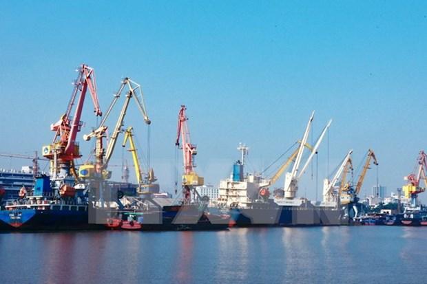 海防港货物吞吐量达近3000万吨 hinh anh 1