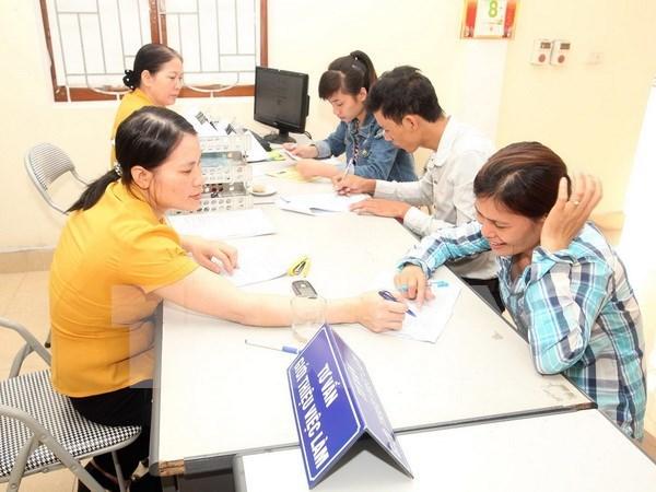 泰国为越南劳工签发劳工证 hinh anh 1