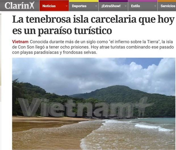 阿根廷媒体:昆仑岛监狱已成为越南颇具吸引力的旅游景点 hinh anh 1