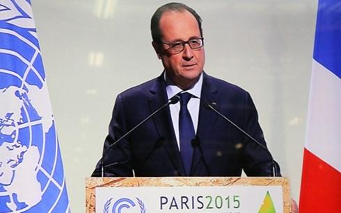 巴黎气候变化大会:约束与承诺 hinh anh 1