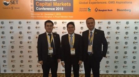 越南河内证券交易所代表出席国际资本市场会议 hinh anh 1