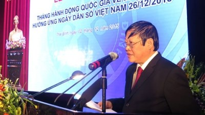 国家人口行动月启动仪式在太平省举行 hinh anh 1