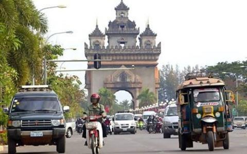 老挝经济继续呈现稳定增长态势 hinh anh 1