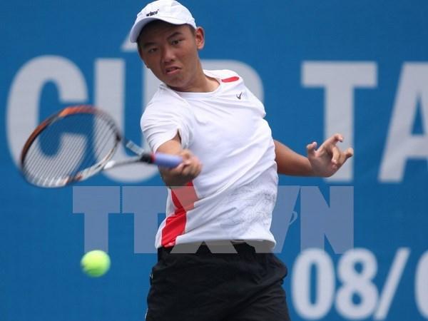 越南网球选手李黄南晋级柬埔寨F2未来赛8强 hinh anh 1