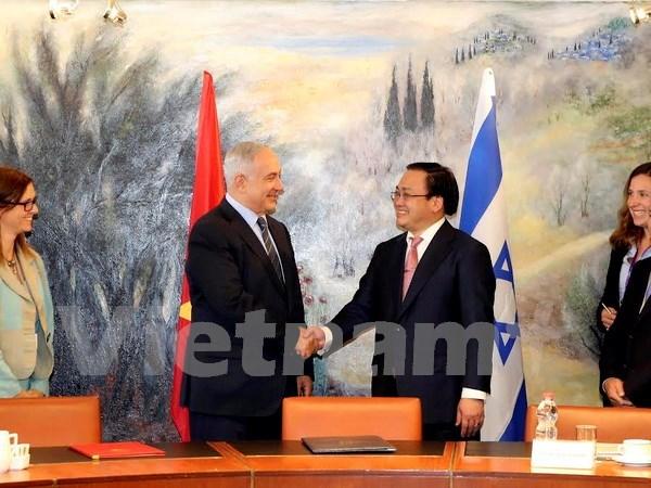 越南政府副总理黄忠海对以色列进行正式访问 hinh anh 1