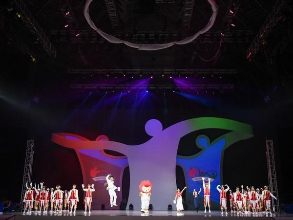 第8届东南亚残疾人运动会在新加坡开幕 hinh anh 1