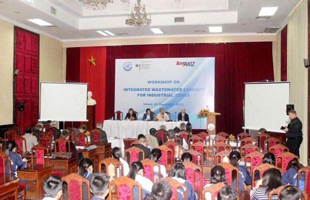 越南与德国加强水务领域的科技合作 hinh anh 1