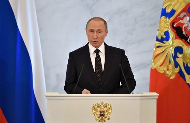 俄总统普京:俄方支持欧亚经济联盟与上海合作组织和东盟之间的合作 hinh anh 1