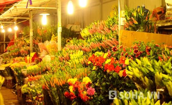 广霸花卉夜市——河内市的独特集市 hinh anh 2