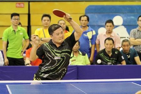 第九届亚太乒乓球老将锦标赛在胡志明市开赛 hinh anh 1