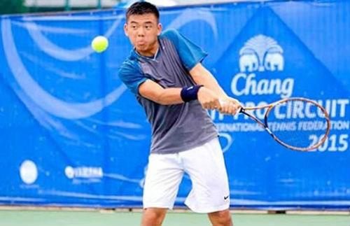 柬埔寨网球F2未来赛:黎黄南挺进半决赛 hinh anh 1