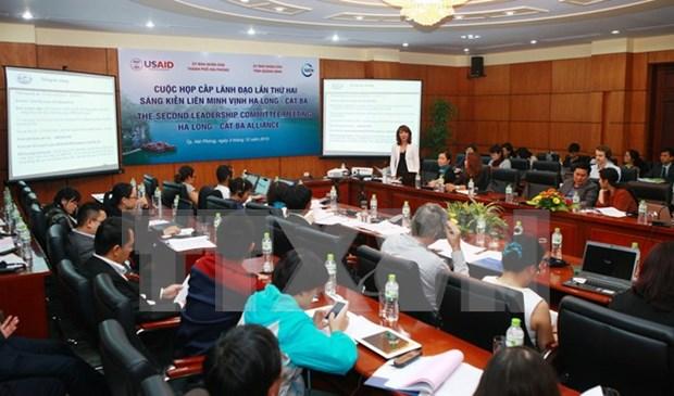 下龙湾——吉婆联盟倡议:加大下龙湾和吉婆保护与环保工作力度 hinh anh 1