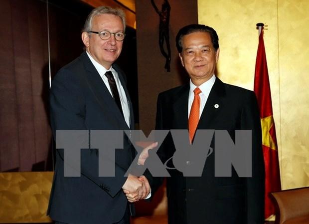 越法把两国战略伙伴关系内涵进一步具体化 hinh anh 1