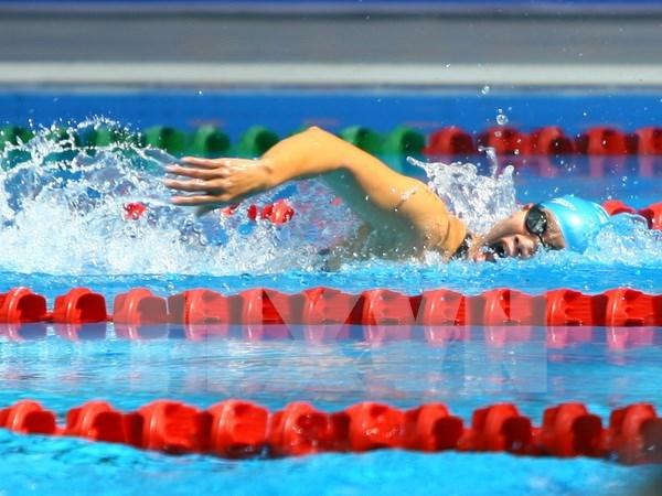 第8届东盟残疾人运动会:越南以6枚金牌的成绩暂居奖牌榜榜首 hinh anh 1