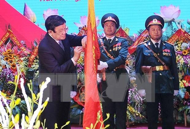 越南人民军队9号军区武装力量荣获一级军功勋章 hinh anh 1