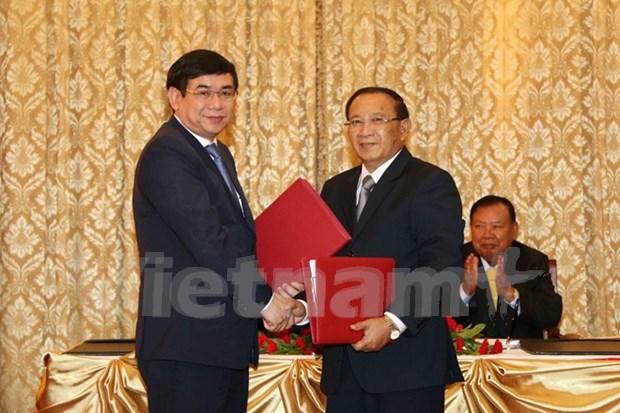 越南投资与发展银行资助老挝政府发展农业 hinh anh 1