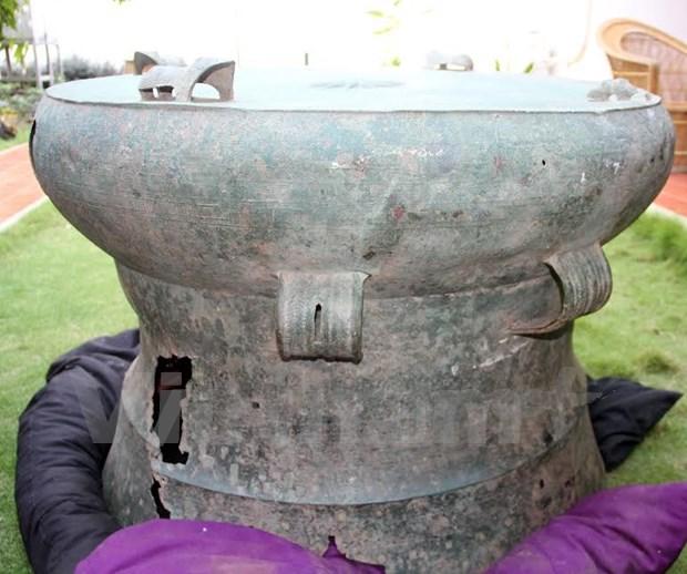 越南东山铜鼓在东帝汶发现 hinh anh 1