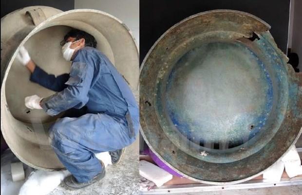 越南东山铜鼓在东帝汶发现 hinh anh 3