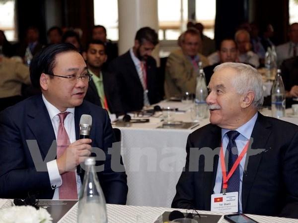 越南政府副总理黄忠海出席越南—以色列经贸合作论坛 hinh anh 1
