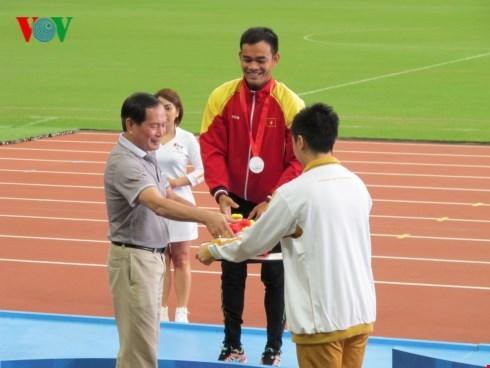 第八届东南亚残运会:越南体育代表队在排行榜上跃居第三 hinh anh 1