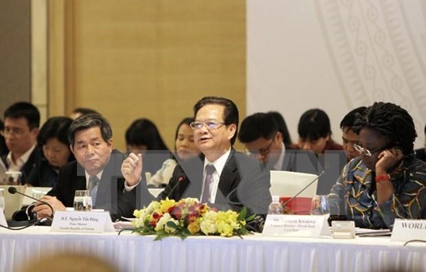 2015年越南发展伙伴论坛在河内举行 hinh anh 1