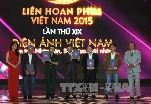 2015年第19届越南电影节落下帷幕 获金莲花奖电影名单揭晓 hinh anh 1