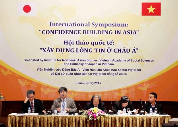 """""""树立亚洲信心""""国际研讨会:遵守国际法律树立亚洲信心 hinh anh 2"""