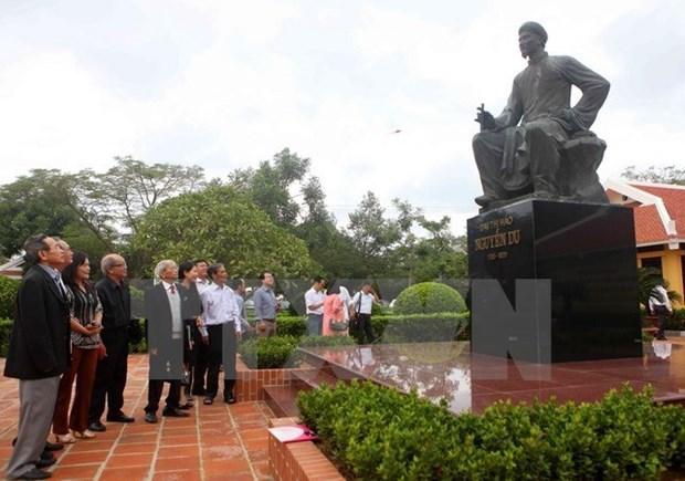越南拟将阮攸纪念区建设成为国家级文化旅游之地 hinh anh 1