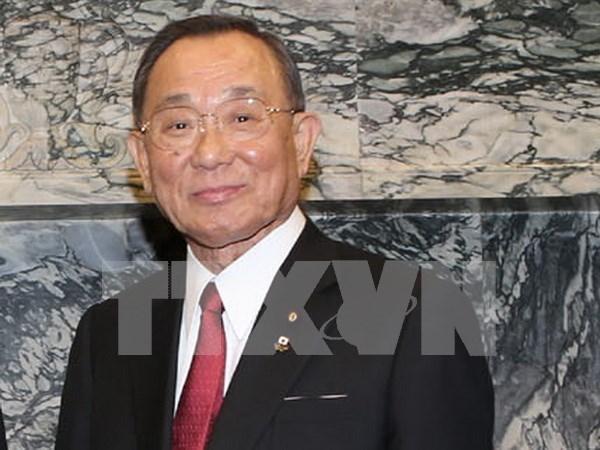 日本参议院议长山崎正昭开始对越南进行正式访问 hinh anh 1