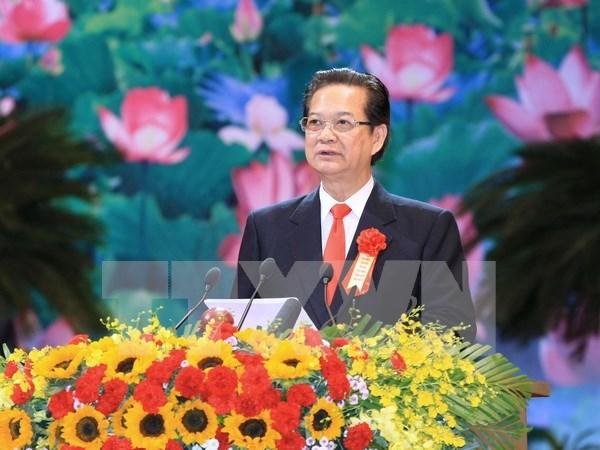 第九次越南全国爱国竞赛大会在河内隆重开幕 hinh anh 1