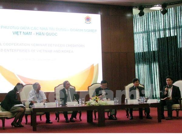 越南与韩国加强金融领域合作 hinh anh 1