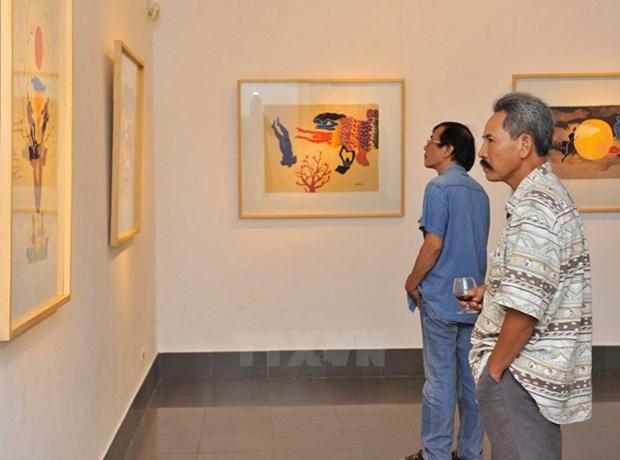 2015年越南美术展明天开展 hinh anh 1