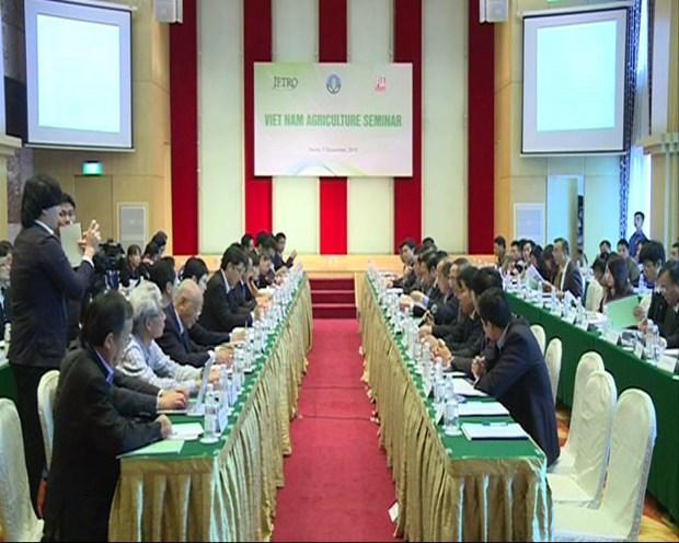 越南与日本加强农业合作 hinh anh 1
