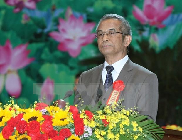 越南代表团出席第九次促进社会可持续发展亚欧论坛 hinh anh 1