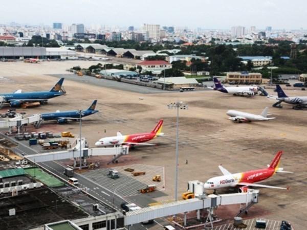 越南飞行管理总公司迎来2015年第60万安全航班 hinh anh 1