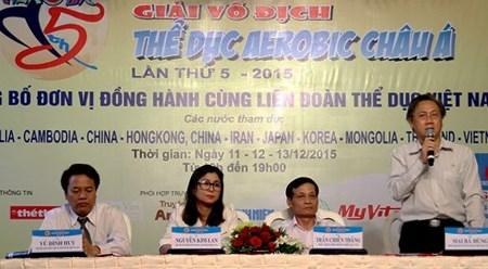 第五届亚洲健美操锦标赛落户越南胡志明市 hinh anh 1