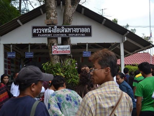 柬泰贸易联委会第五次会议在曼谷举行 hinh anh 1