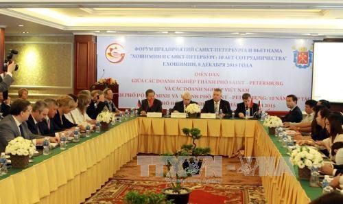 越南胡志明市与俄罗斯圣彼得堡市促进多领域合作 hinh anh 2