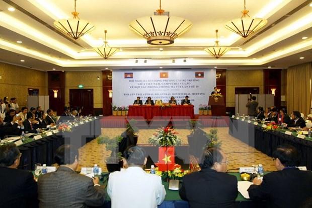 第15届越老柬禁毒合作部长级会议在胡志明市举行 hinh anh 1