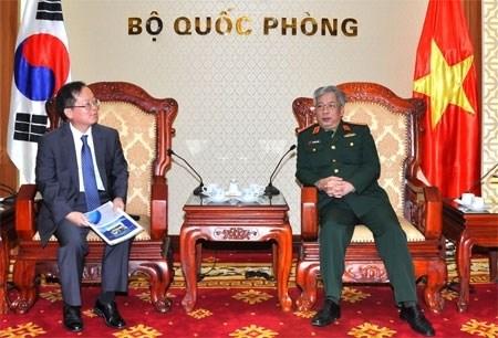 越南与韩国加强扫雷领域的合作 hinh anh 1