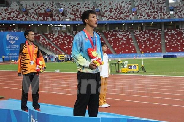 第八届东南亚残疾人运动会:越南体育代表团打破16项纪录 hinh anh 1