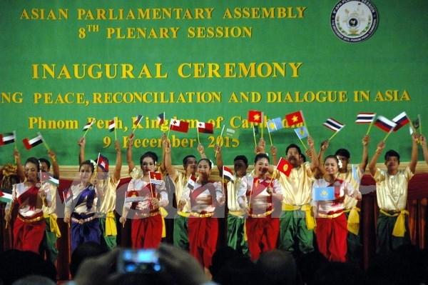 第8届亚洲议会大会开幕 hinh anh 1