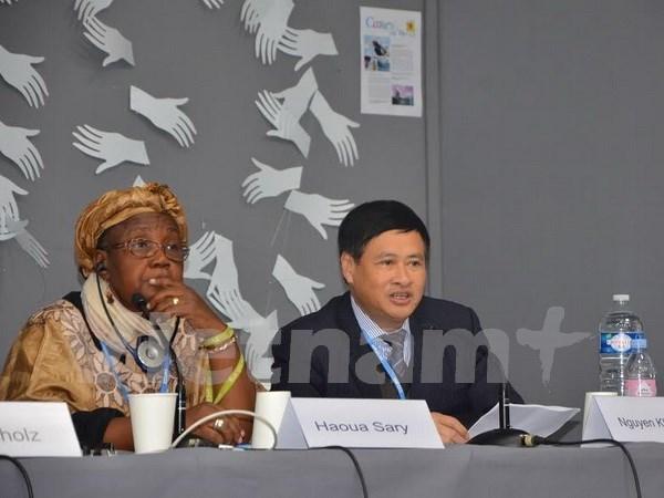 COP21后越南继续努力应对全球气候变化 hinh anh 1