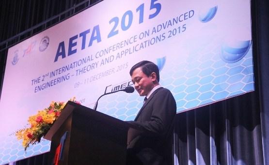 """2015年第二次""""先进技术——理论与应用""""国际会议在胡志明市举行 hinh anh 1"""