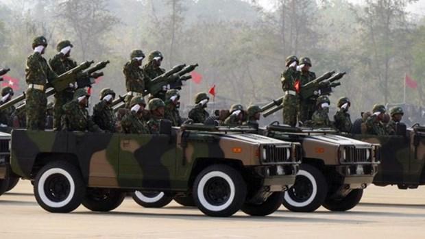 美国希望同缅甸加强军事合作 hinh anh 1