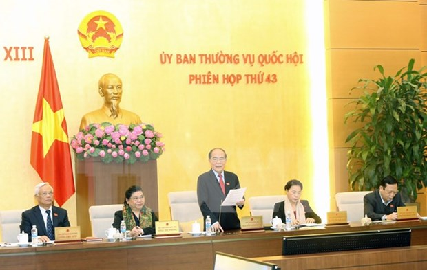第13届国会常委会第43次会议在河内开幕 hinh anh 1