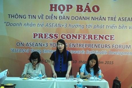 东盟与中日韩年轻企业家面向可持续发展 hinh anh 1