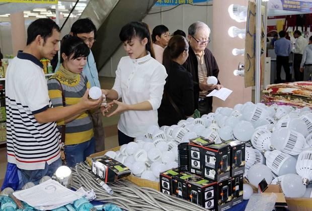 400多间展会参加2015年岘港市越南商品展销会 hinh anh 2